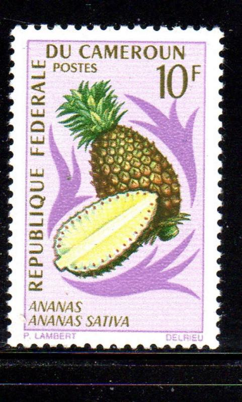 CAMEROUN #467  1967  10fr PINAPPLE    MINT  VF NH  O.G