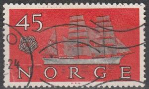 Norway #384  F-VF Used (V2193)