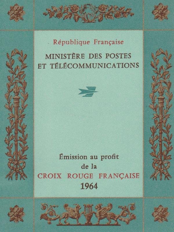 France #B385a Complete Booklet  CV $3.50  (A7715)
