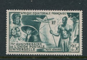 French Equatorial Africa #C34 Mint