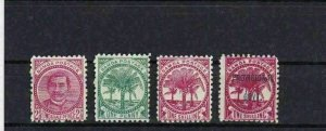 SAMOA  1886 - 1900  MOUNTED MINT STAMPS CAT £40 REF 6788