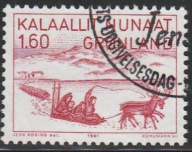 Greenland, #112 Used From 1980-87