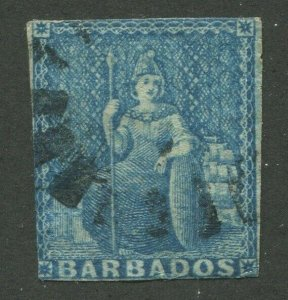 BARBADOS #6 USED