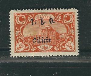 Cilicia 79 Yv 60 5pa Orange MLH VF 1919 SCV $4.75
