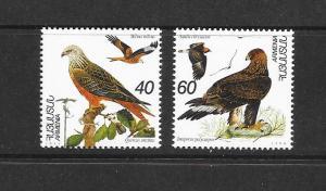 BIRDS - ARMENIA #499-500  MNH