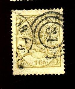Denmark #15 Used FVF Cat$175