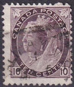 Canada #83 Used  CV $30.00 (A19810)