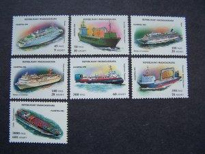 Madagascar 1994 Ships Mi # 1752/8