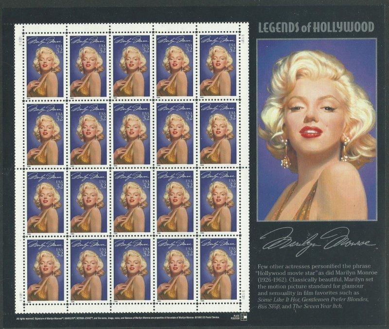 1995 United States Scott Catalog Number 2967c MNH