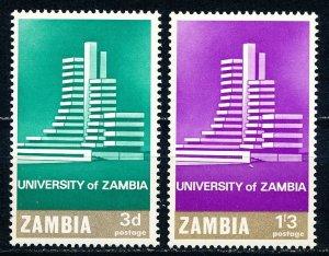 Zambia #28-29  Set of 2 MNH