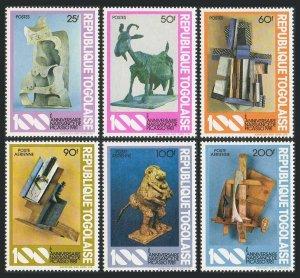 Togo 1116-1118,C450-C452,MNH.Michel 1559-1564. Pablo Picasso,1981.