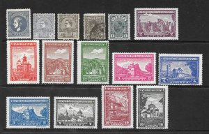 Serbia Lot of 28 Different Mint & Used stamps  2017 CV $20.10