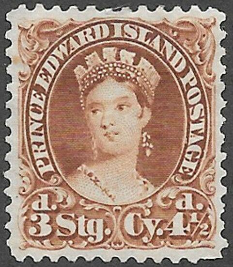 Prince Edward Island Scott Number 10 VF NG HR
