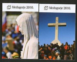 BOSNIA-CROATIA-MNH**- BOOKLET MEDJUGORJE-ICONS-2010.