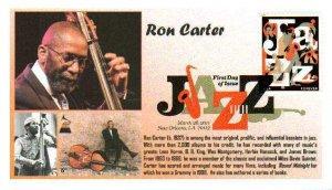 6° Cachets 4503 Jazz Bassist Ron Carter DCP Digital Color Postmark