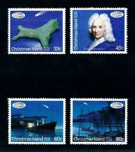 [102273] Christmas Island 1986 Space travel weltraum Halley comet  MNH