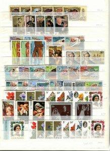 COOK ISLANDS; AITUTAKI early 1950s-70s Accumulation fine Mint & used LOT