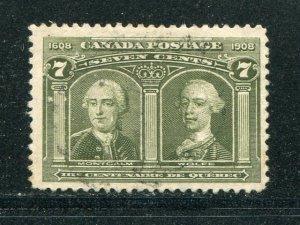 Canada #100 Used  VF   -  Lakeshore Philatelics