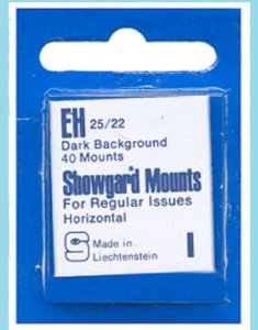 Mounts Showgard, 25/22mm (40ea Black)(00503B)