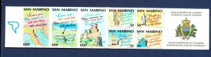 SAN MARINO - # 1209a - VFMNH complete booklet -  Tourism  1990