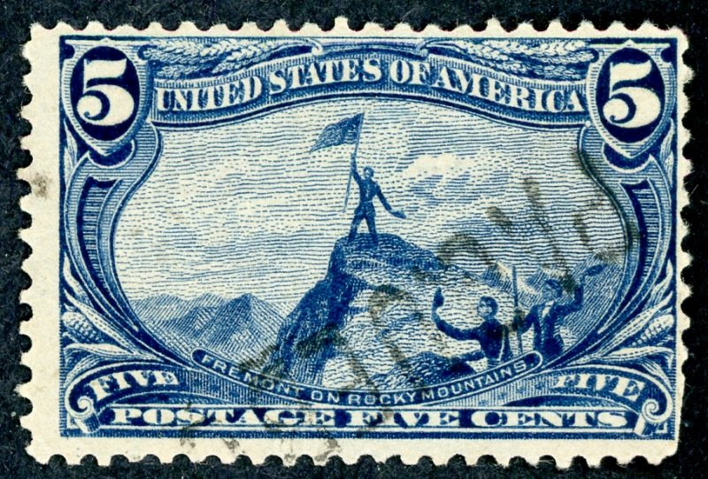 #288 – 1898 5c Trans-Mississippi Exposition. Used.