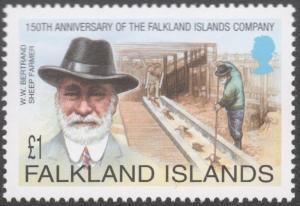 FALKLAND ISLANDS #800-803  MINT NEVER HINGED COMPLETE SET ( 4 )
