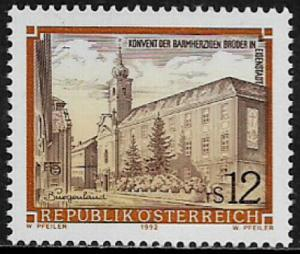 Austria #1470 MNH Stamp - Monastery of the Hospitalers