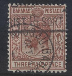 Bahamas -Scott 73 - Definitive - KGV -1934 - VFU - Single 1.1/2p Stamp