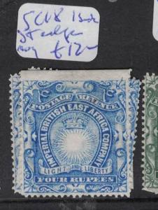 British East Africa SC 18, 1 Straight Edge (varying Sides) MNG (9drr)