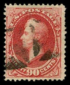 U.S. BANKNOTE ISSUES 155  Used (ID # 58978)