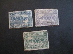 Uruguay #306-08 Mint Never Hinged WDWPhilatelic (H5K7)