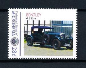 [92970] Micronesia  Classic Cars Bentley 6.5 Litre  MNH