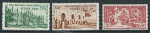 French Guinea CB1-3 1942 Child Welfare set MNH