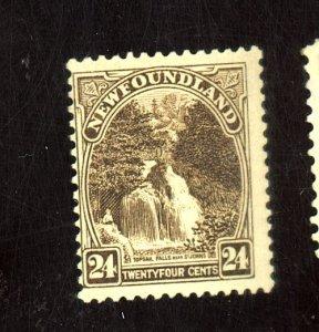 Newfoundland #144 MINT Fine OG LH Cat$60