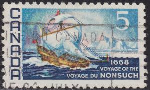 Canada 482 USED 1968 Nonsuch Ship