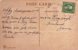 United States Iowa 1913 Bartlett 1913 4b-bar  1867-1958  PC  Small crease at ...