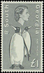 1963-1969 South Georgia #1-16, Complete Set(16), Never Hinged