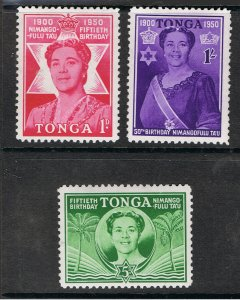 TONGA 1950 QUEEN SALOTE 50th BIRTHDAY