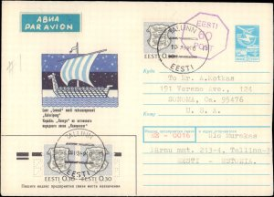 Estonia, Postal Stationery
