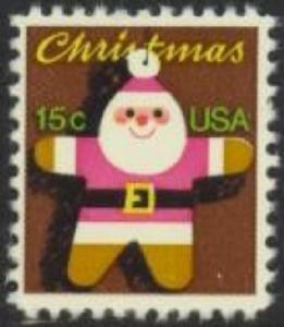 1800 Christmas Santa F-VF MNH single