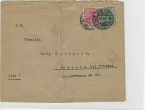 German Postal History Stamps Cover Ref: R4679