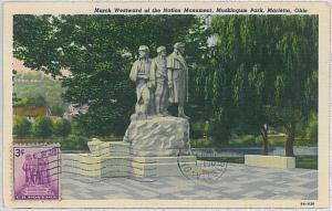 37244  MAXIMUM CARD - USA : MUSKINGUM PARK , Marietta, Ohio - 1957