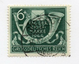 Germany 1943 Early Issue Fine Used 6pf. NW-100696