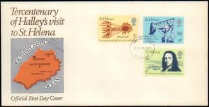 St. Helena, Worldwide First Day Cover, Space