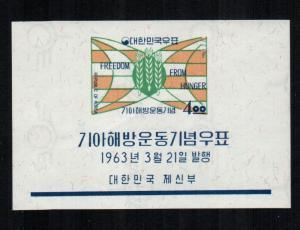 Korea  381a sheet  MNH cat $ 4.50 aaa