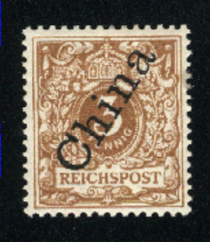 Germany Offices in China #1a   Mint VF 1898  PD
