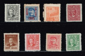 CHINA STAMP  MINT STAMP COLLECTION LOT #J34