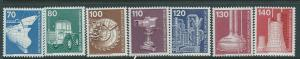 Germany #9N366-370 (MLH) CV $8.85