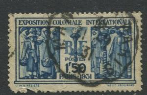 France - Scott 261 - General Issue -1930 - Used -Single 1.50fr Stamp