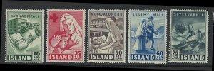 Iceland Scott B7-B11! MVLH! Complete Set!